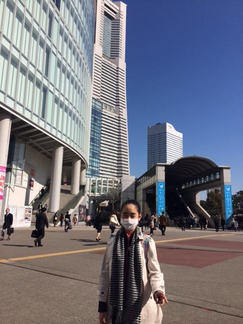 横浜にて講習会、今日から日間頑張ります!