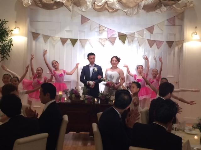 ヘアメイクでお世話になっている千春さんの結婚式