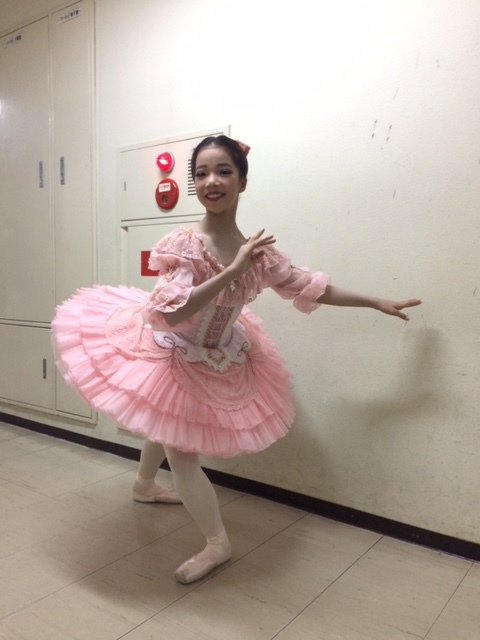 ジュニア部門で踊ってきました。